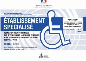 CERAH fauteuil roulant achat location