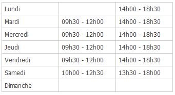 horaires-douverture-access medical