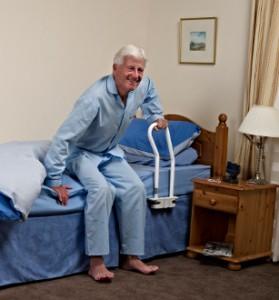 barre de lit redressement matériel médical Grenoble