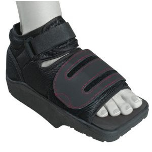 Chaussure-Post-op-Hallux-Valgus-Podapro-Donjoy matériel médical grenoble