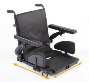 fauteuil roulant Quickie-Hula matériel médical grenoble 4