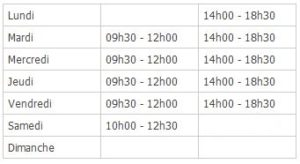 Horaires-ouverture-access-medical-echirolles