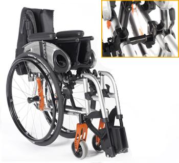 fauteuil roulant Quickie Life matériel médical grenoble 2
