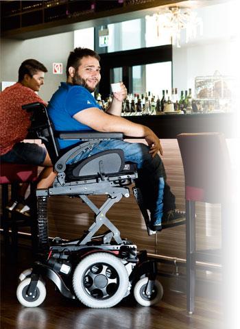 fauteuil roulant Quickie-Salsa-M2 matériel médical grenoble 2